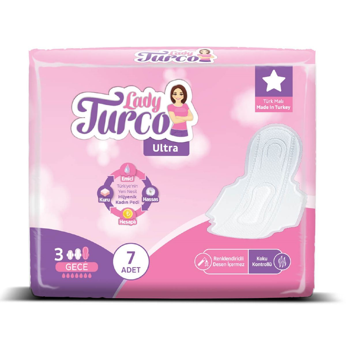 Lady Turco Ultra Gece 7 Ped