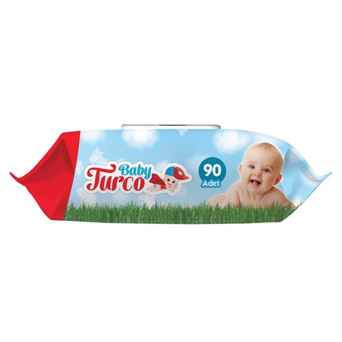Baby Turco Islak Havlu 90'lı