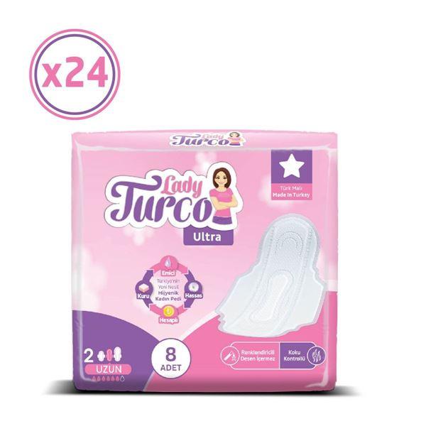 Lady Turco Ultra Uzun 24X8 Ped