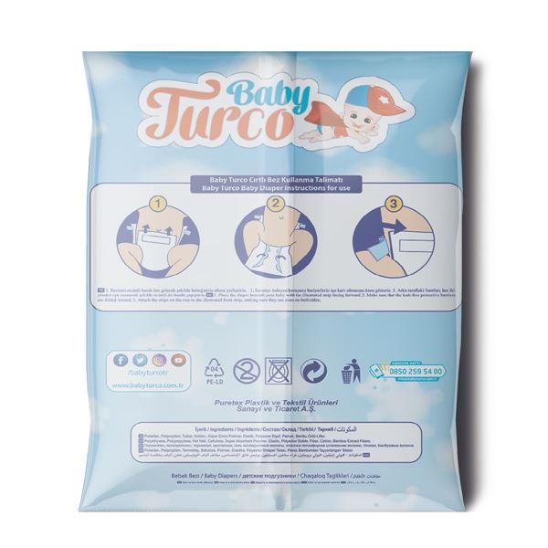 Baby Turco Bebek Bezi 3 Numara Midi Deneme Ürünü