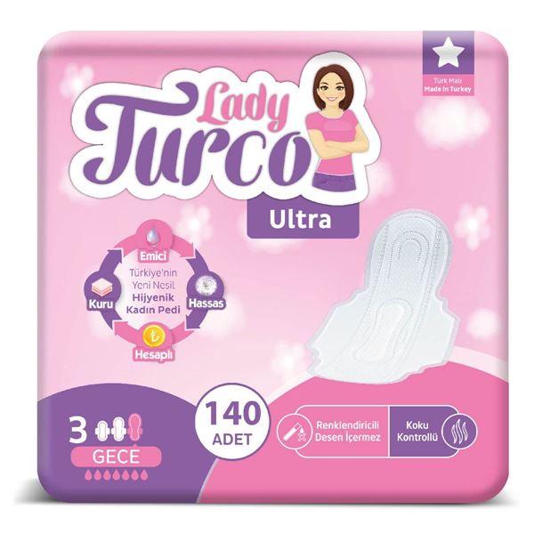 Lady Turco Ultra Gece 140 Ped