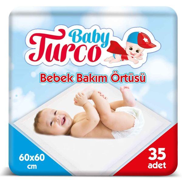 BABY TURCO BEBEK BAKIM ÖRTÜSÜ 35 ADET