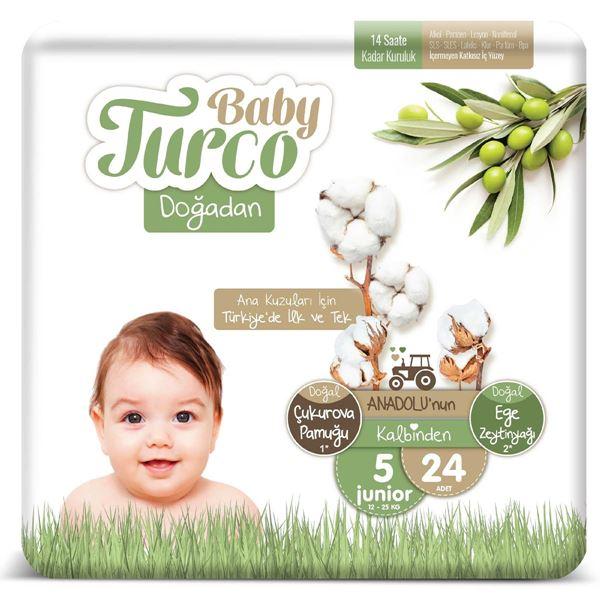 Baby Turco Doğadan 5 Numara Junıor 24 Adet