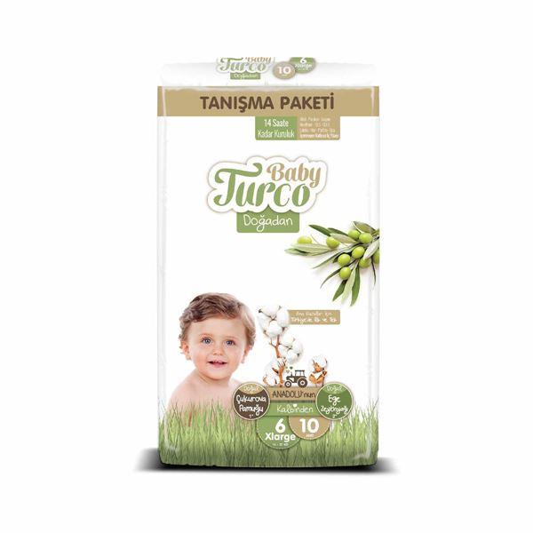 Baby Turco Doğadan 6 Numara Xlarge Tanışma Paketi 10 Adet