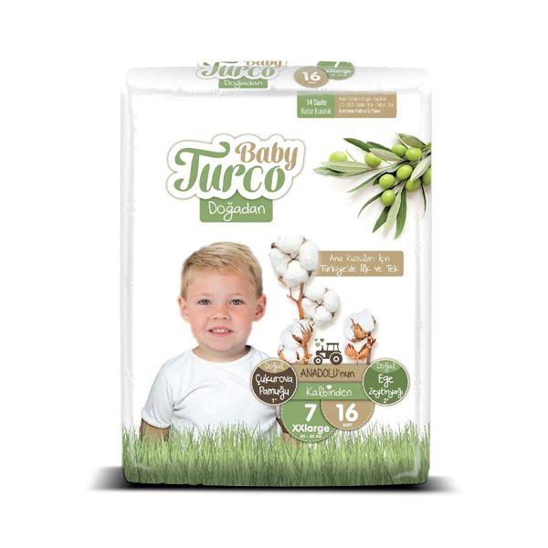 Baby Turco Doğadan 7 Numara Xxlarge 16 Adet