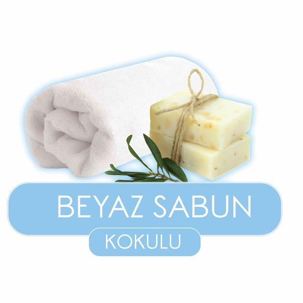 Baby Turco Beyaz Sabun Kokulu Islak Havlu 48x90