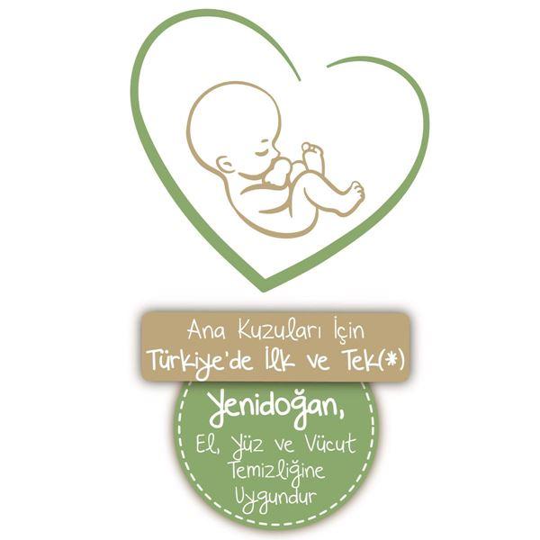 Baby Turco Doğadan Yenidoğan Islak Bebek Havlusu 24X60 Yaprak