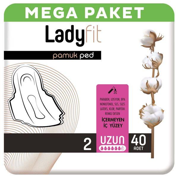 Ladyfit Pamuk Ped Mega Uzun 40 Ped