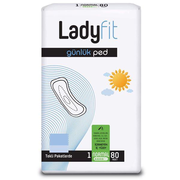 Ladyfit Günlük Ped Normal 80 Ped